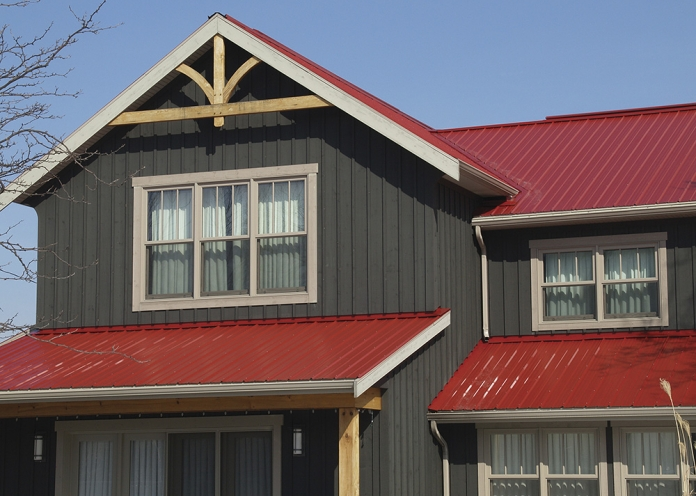 Frost Roofs G Rib Metal Roof Frost Roofing 855 853 7678